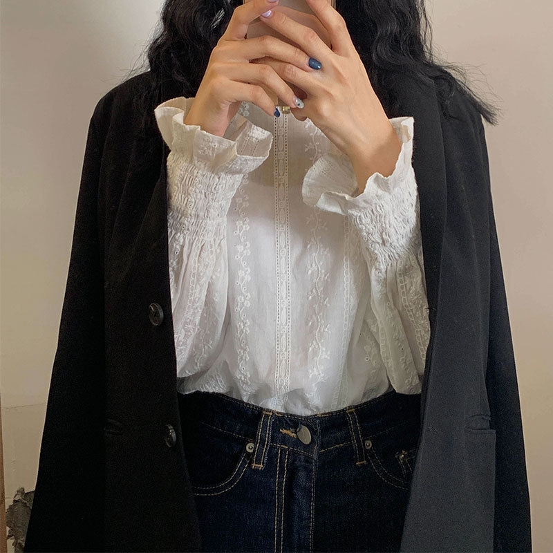 Áo chiffon nữ tay ngắn