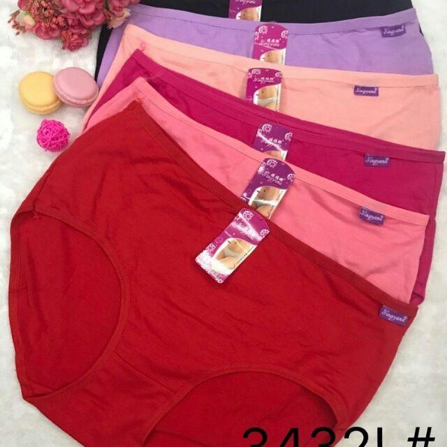 5 quần lót nữ- chất thun mát- chất liệu mền mại