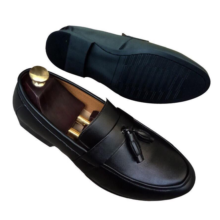 Giày Da Nam Hàn Quốc - Giày Chuông