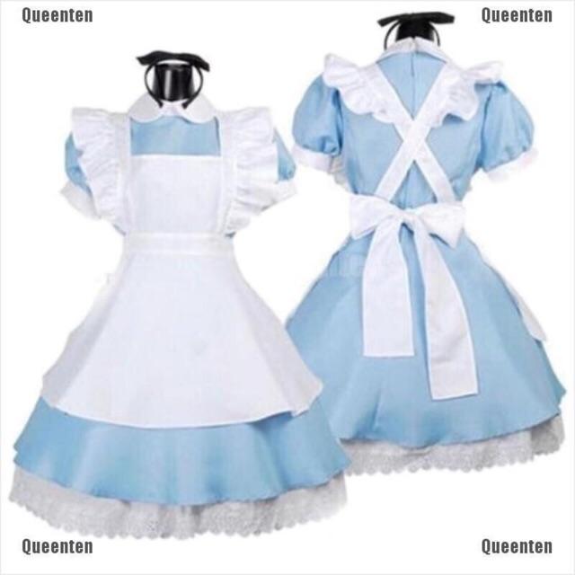 Thanh lý đầm maid lolita (Alice) giá rẻ (có hình thật)