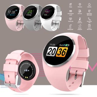 Waterproof Bluetooth 4.0 Touch Screen Sleep Health Monitor Sports Record Smart Watch for IPhone Android IOS