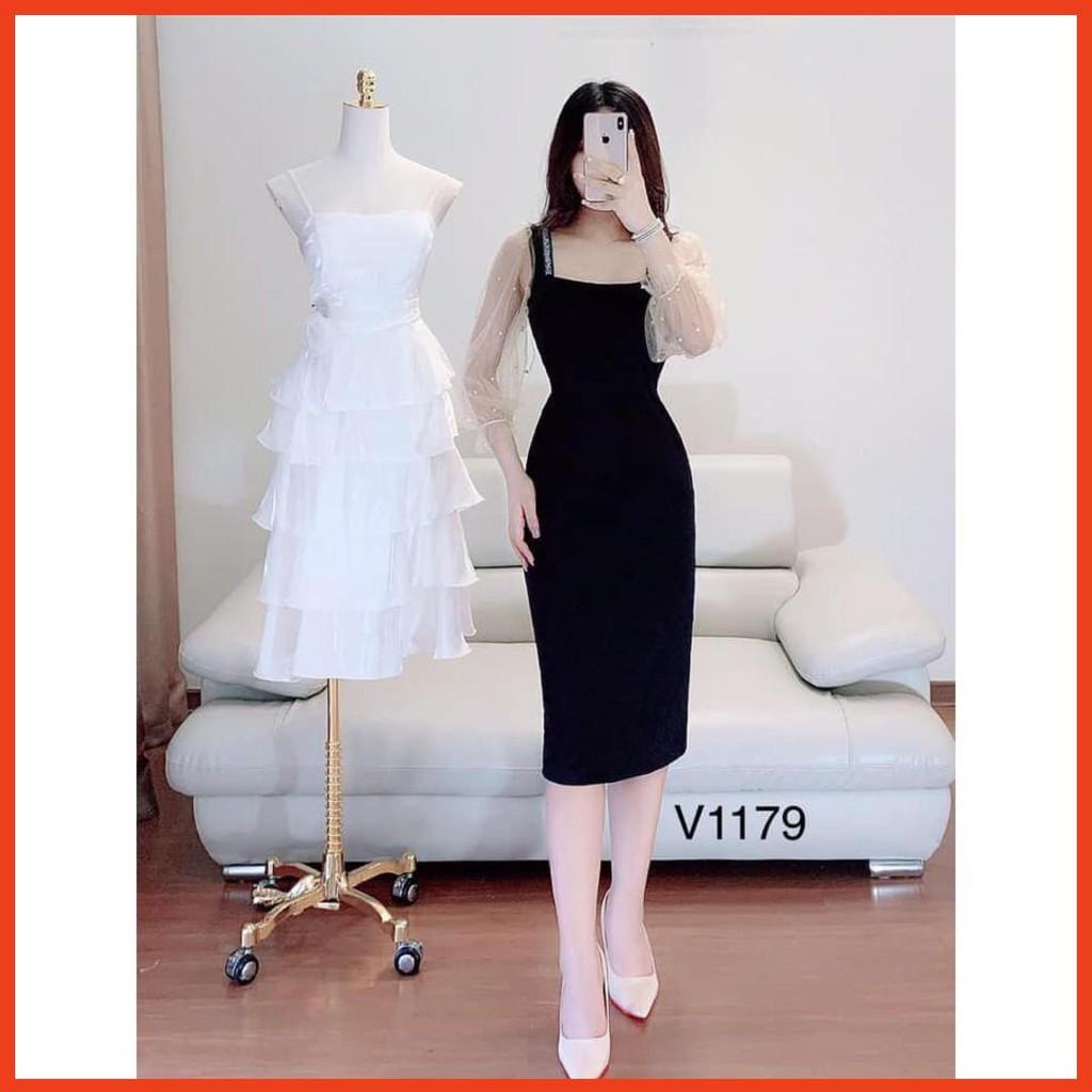 [HOT] Váy đầm thiết kế dự tiệc V1179 Mie Design kèm ảnh thật