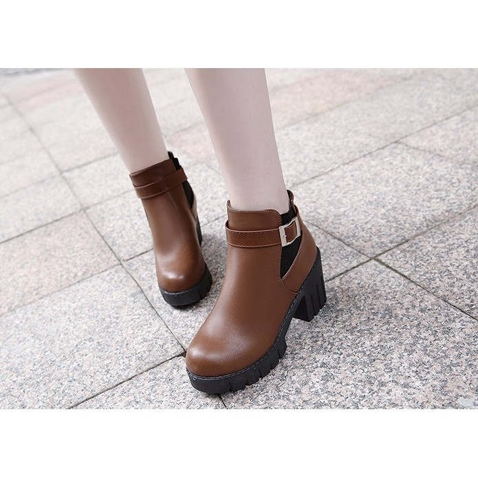 Giày Boot nữ thời trang B095N