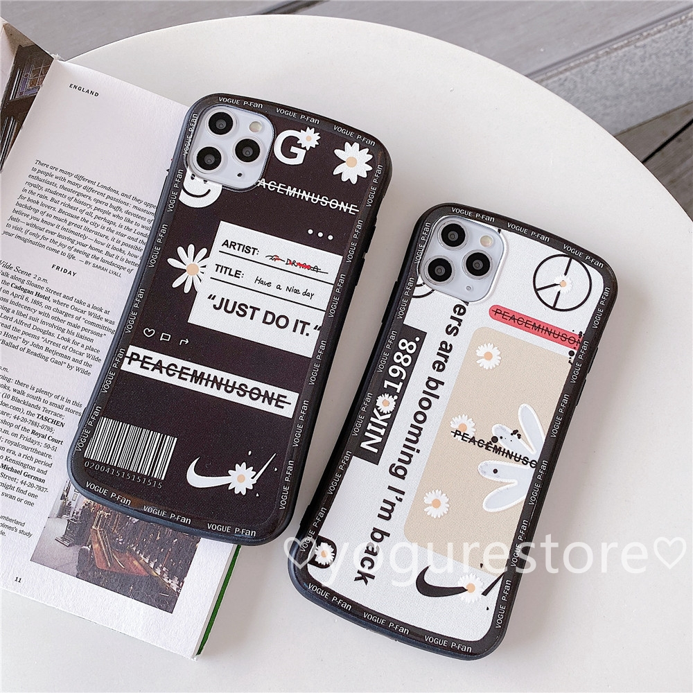 Fashion Graffiti G-Dragon Daisy Slim Waist Soft Phone Case Cover For IPhone 11 Pro Max X XS XR XSMax 8 7 6 6s Plus