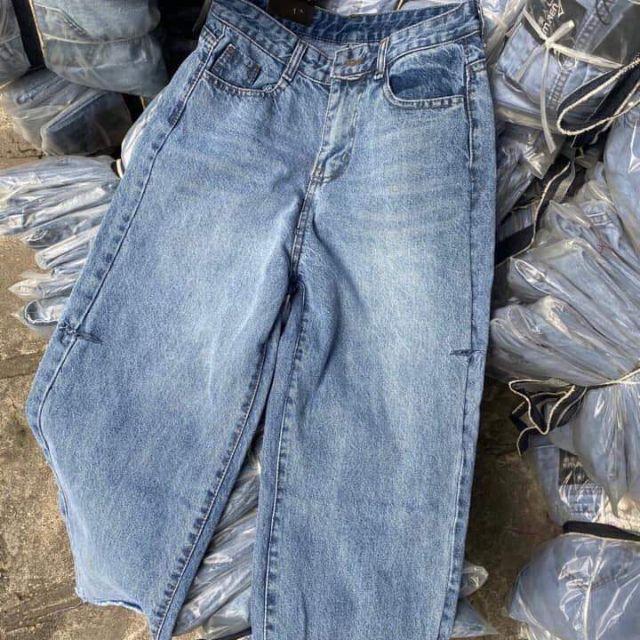 Quần jean suông