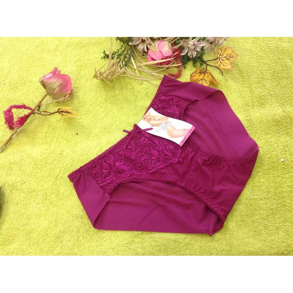 10 quần lót nữ beautiful spring 5402 phối ren gợi cảm chất đẹp giá rẻ