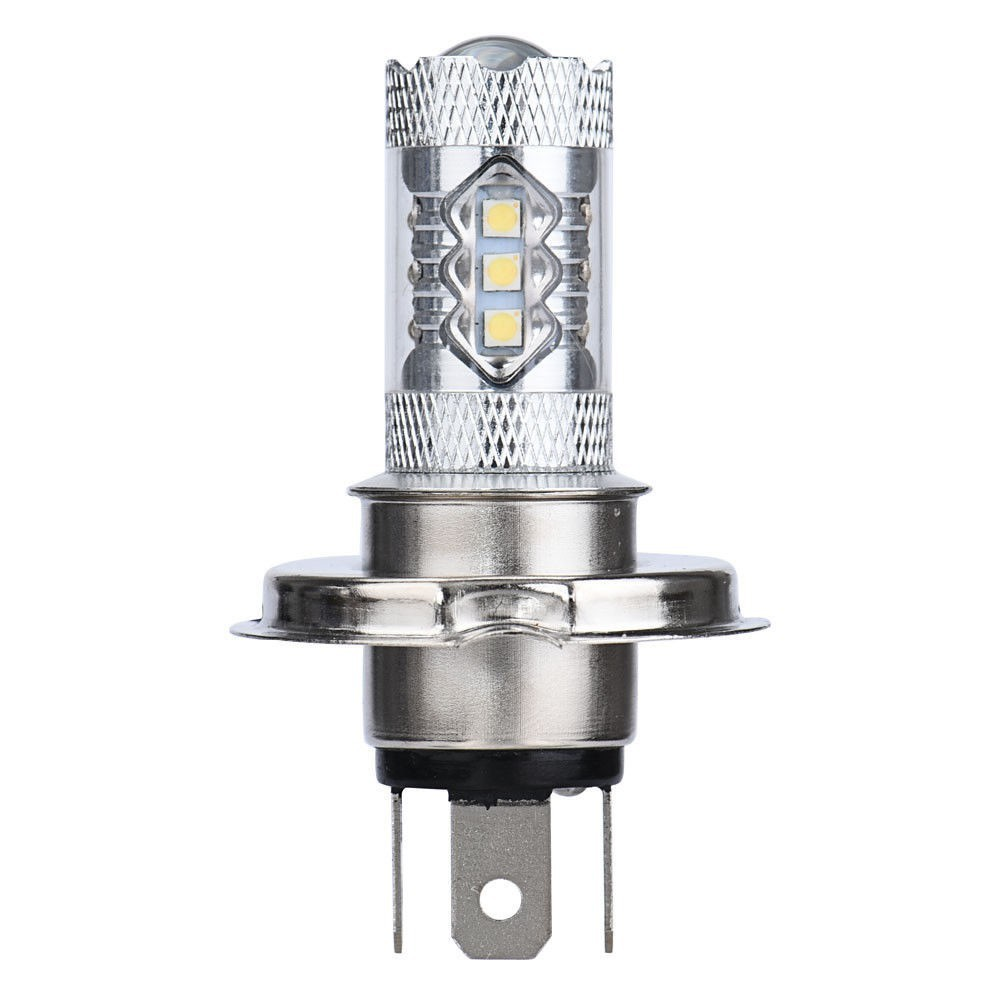 [Mã AUCBT7 giảm 15k đơn bất kì] 2 Bóng đèn Led phá sương siêu sáng H4 9003 80W cho xe hơi