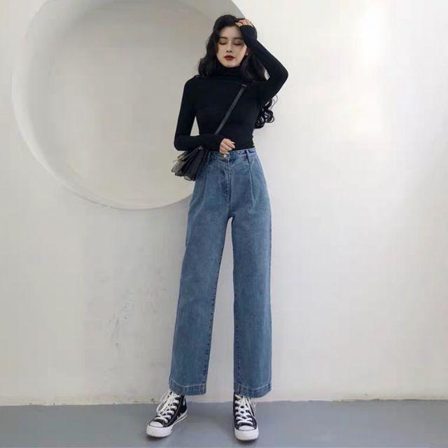 Quần jeans ulzzang 2019 KÈM 2 ẢNH THẬT CUỐI