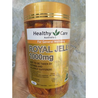 Sữa ong chúa Healthy Care Royal Jelly 1000 365 viên