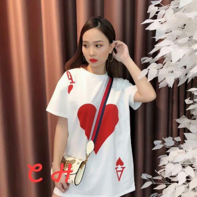 Áo phông lá bài ( cả bộ)