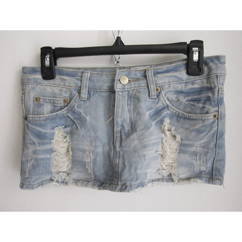 (DXC0000135) Váy quần jean hàng 2hand