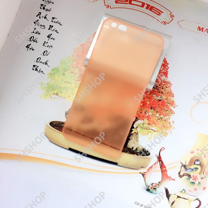 Ốp lưng mỏng giấy iphone 6 plus (cam)