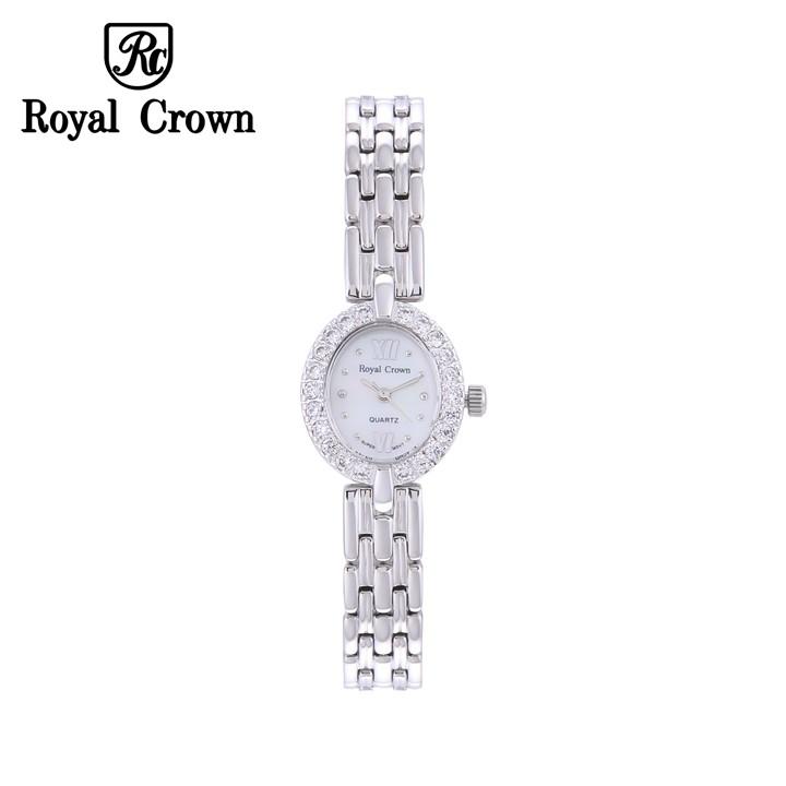 Đồng hồ nữ chính hãng Royal Crown 2100 dây thép