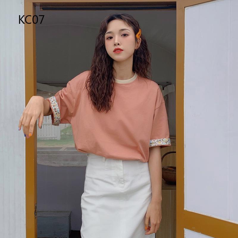 Áo thun polo tay ngắn kiểu dáng Hàn Quốc