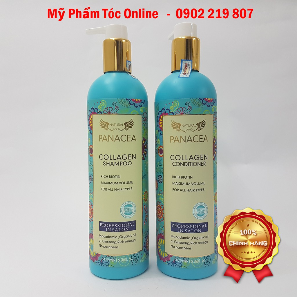 DẦU GỘI XẢ PANACEA COLLAGEN VITAMIN 475ML