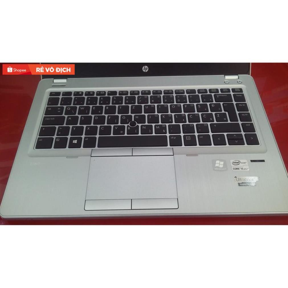 Laptop HP folio 9470M, Core i7 3687U, Ram 4g, Pin 2h, new 98% #4