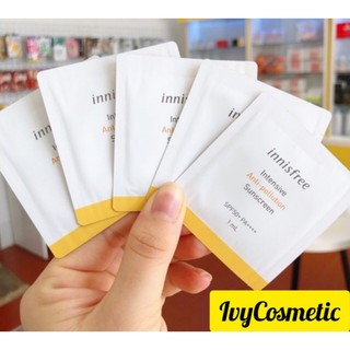 Hình ảnh [Sample 1ml] Gói Sample Kem Chống Nắng Intensive Anti-pollution Sunscreen