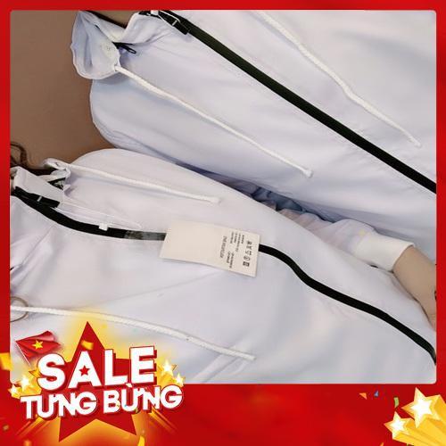 (Có size 45-90kg) áo khoác cặp đôi nam nữ kaki 2 lớp cao cấp mặc mát có túi trong - Hàng nhập khẩu