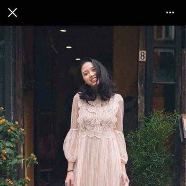 Váy tay phồng