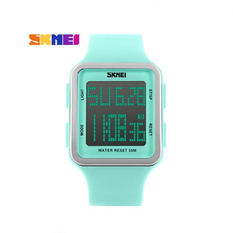 Đồng hồ Unisex Skmei 1139 xanh