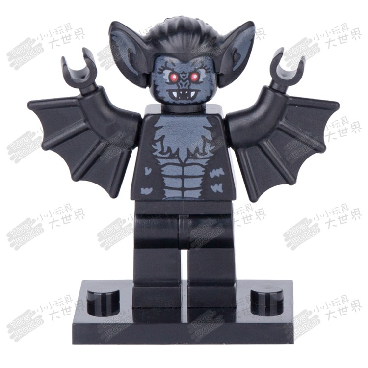 Compatible with LEGO bricks PG1116 vampire bat pumping series third-party MOC as