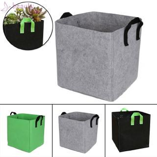 Hình ảnh Planter Bag Rectangular Pot Reusable Outdoor 28*28*31CM 7 Gallons Garden Grow Pots Vegetable Planting Container