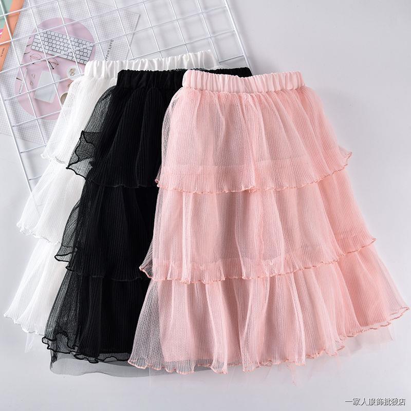 Chân Váy Ren Lưới Kiểu Công Chúa Thời Trang Xuân Hè 2020 Cho Bé Gái