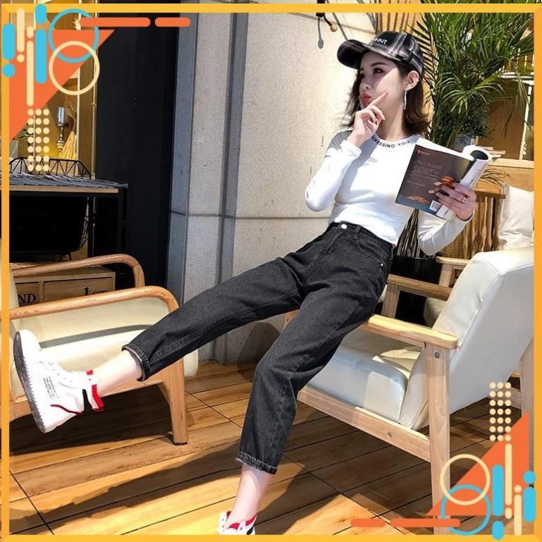 [SẴN] Quần jeans nữ baggy Ulzzang Quảng Châu QD24