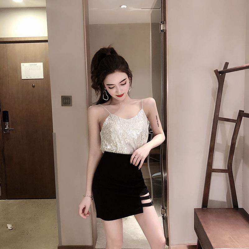 Chân Váy Lưng Cao Ôm Dáng Xinh Xắn Dành Cho Nữ 2020