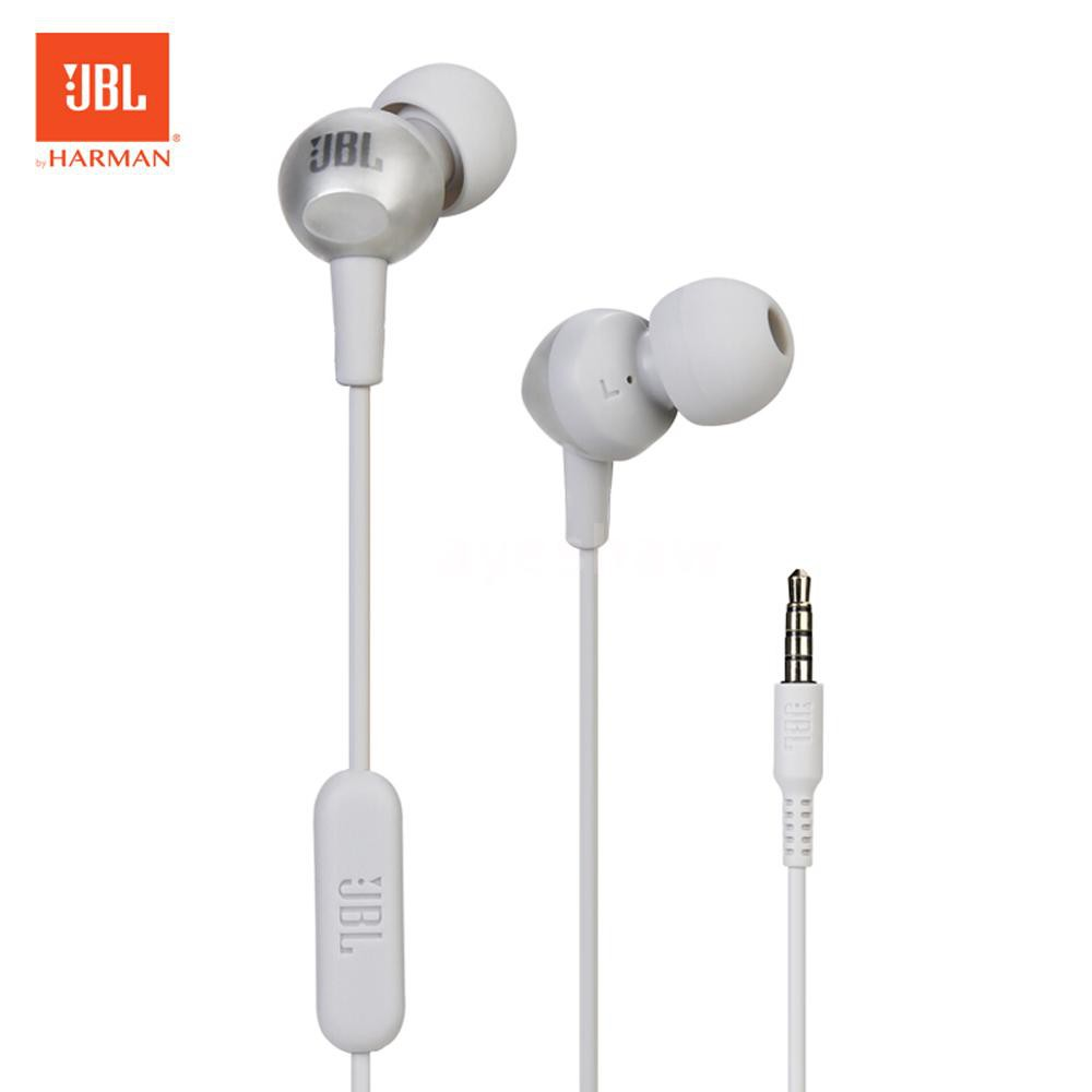 Hình ảnh Ayeshaw JBL C200SI In-ear Headphones 3.5mm Wired Stereo Music Headset Sports Earphone In-line Contro