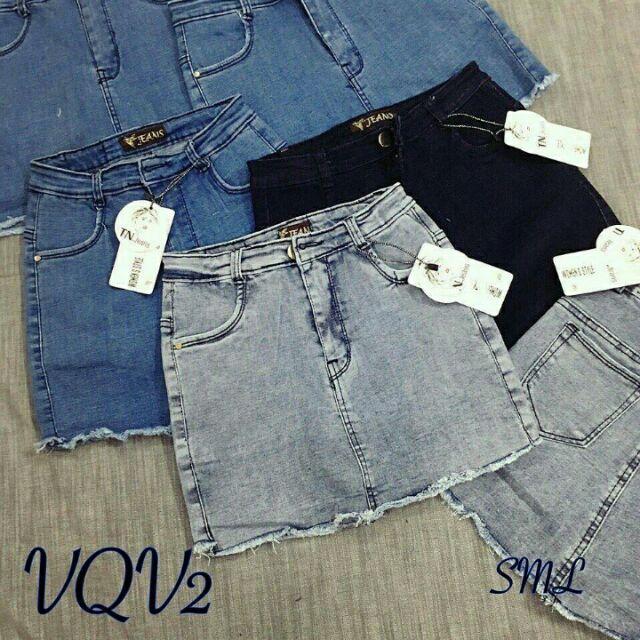 Váy quần jean
