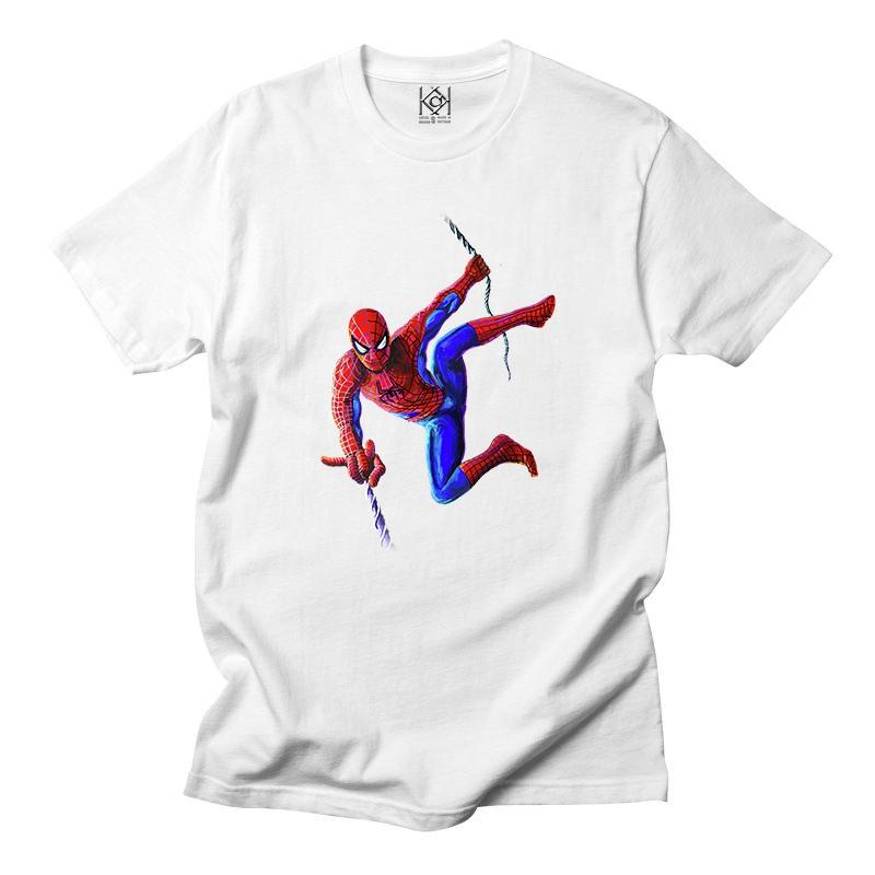 Áo thun movie in hình người nhện Spiderman cực đỉnh ,áo thun unisex nam nữ - Thiết kế độc quyền KAK