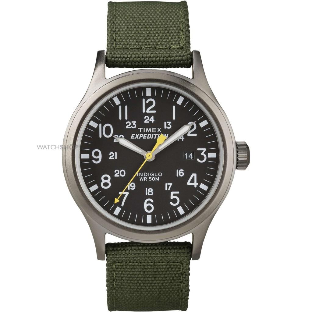 [Mã WTCHMALLTET hoàn 100k xu đơn 499K] Đồng hồ nam chính hãng Timex Expedition