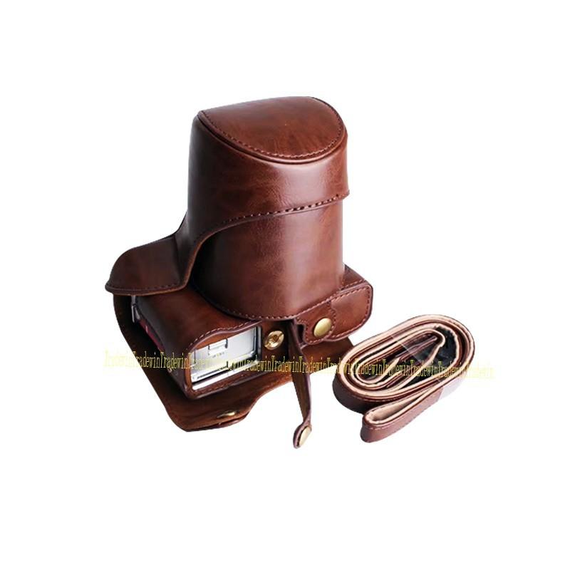 Bao da dành cho máy ảnh Fuji Fujifilm XT20 kèm dây đeo tiện lợi