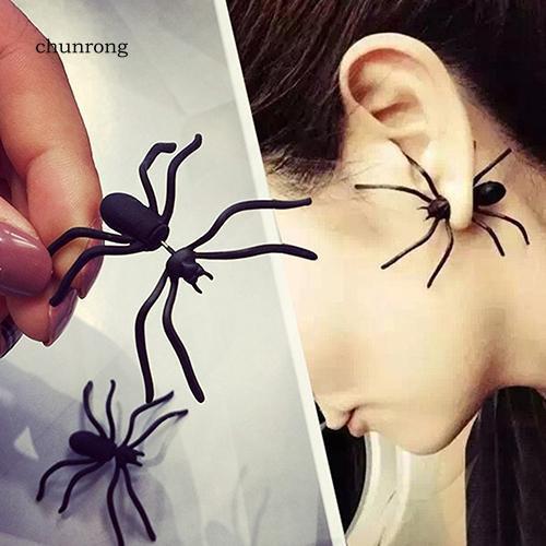 Bông tai hình con nhện cá tính
