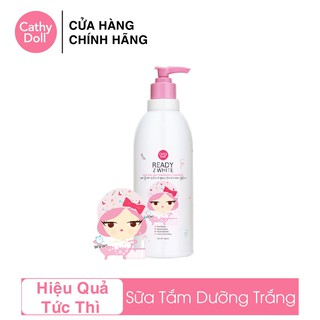 Sữa Tắm Trắng Da Cathy Doll Ready 2 White One Day Whitener Body Cleanser