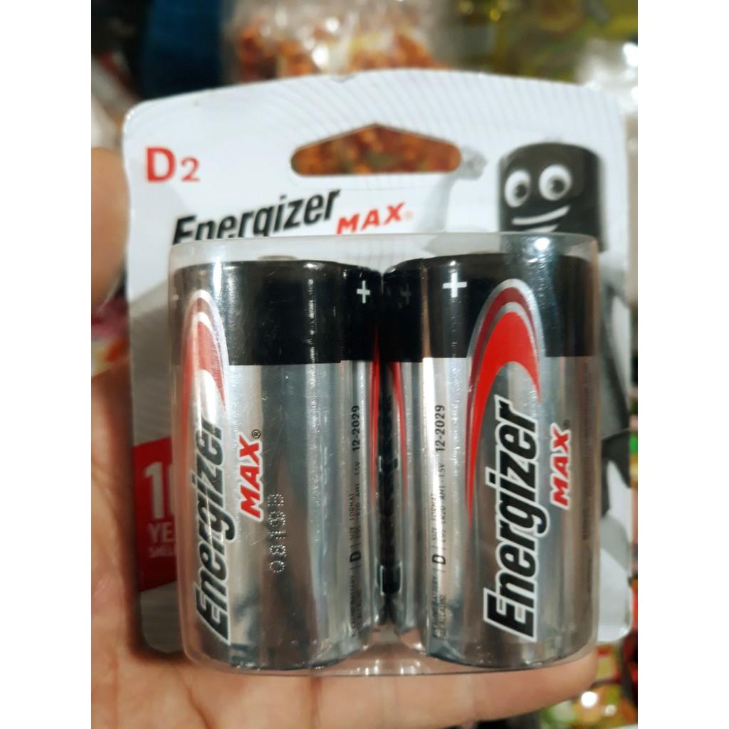 Pin Energizer D, Pin Đại E95 LR20 (1 Vỉ 2 Viên)