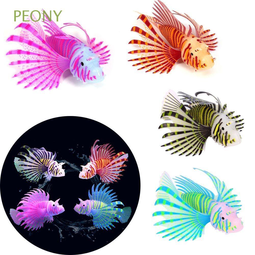 Cá sư tử giả nhiều màu sắc dùng trang trí hồ cá phản quang