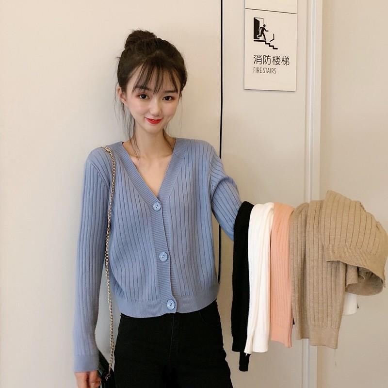 áo khoác len tay dài thời trang dành cho nữ