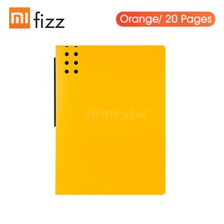 Xiaomi Youpin Fizz A4 Information Booklet File Folder Pockets File Storage Organizer Test Papers Stationery St
