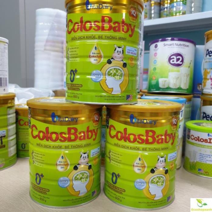 Sữa Colosbaby IQ gold 0+, 1+, 2+ 800g [Date 2023]