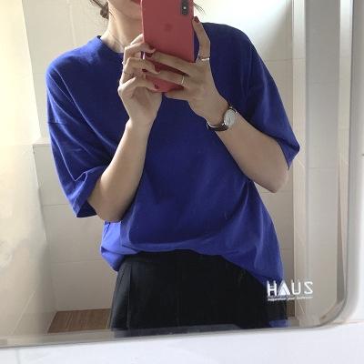 áo thun cotton nữ phong cách Hàn Quốc