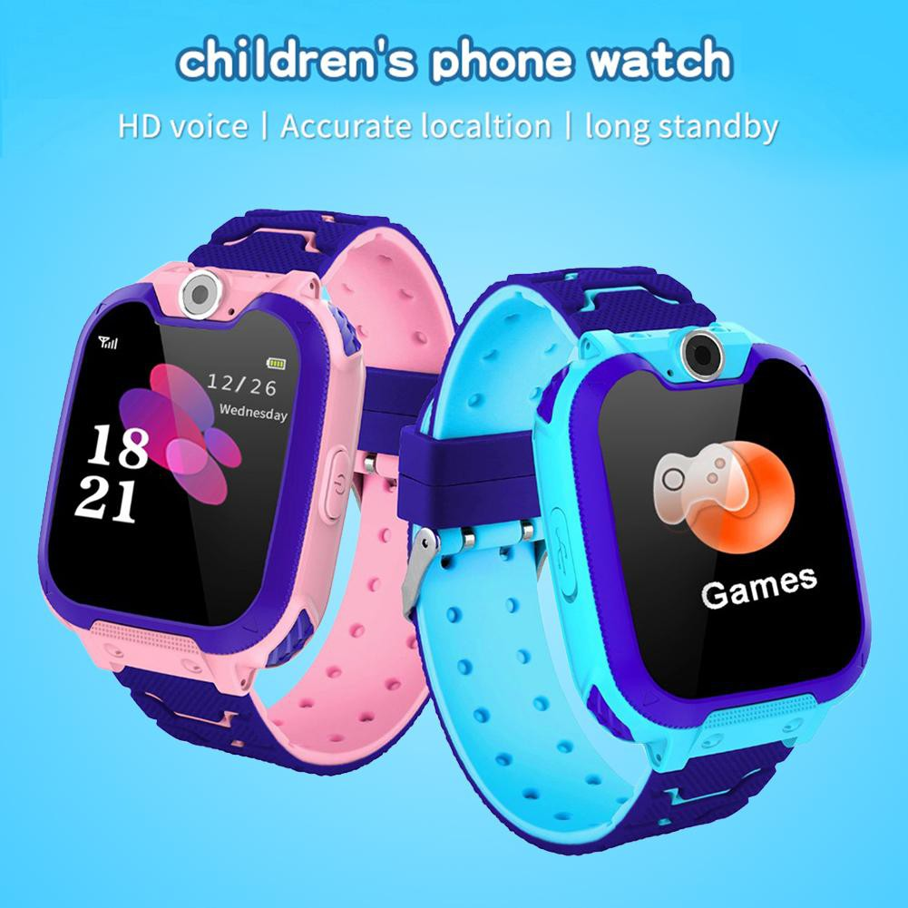 [mkchung] Y46 Kid Touch Screen Smart Watches Phone Children SOS Call Anti-Lost Finder
