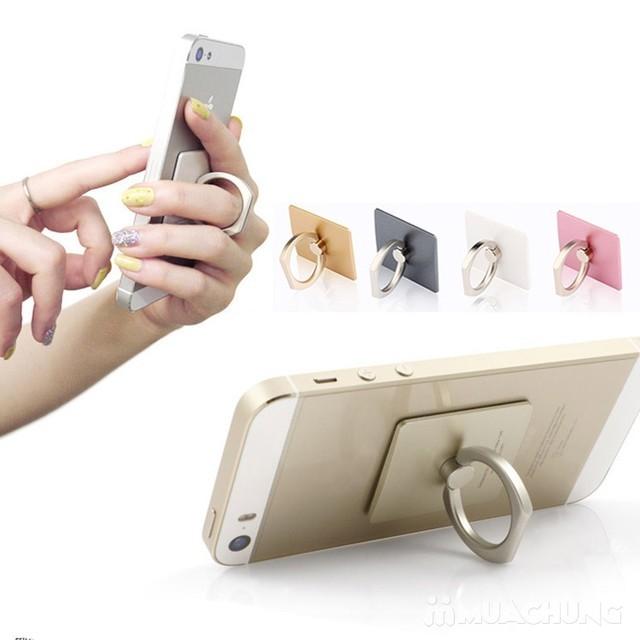 Giá đỡ điện thoại đa năng Hola Ring( BẠC)