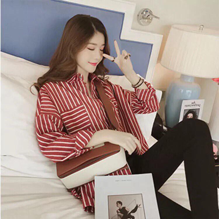 Áo Giả Sơ Mi Thoáng Mát Cho Hè Năng Động WA 21 (Đỏ)