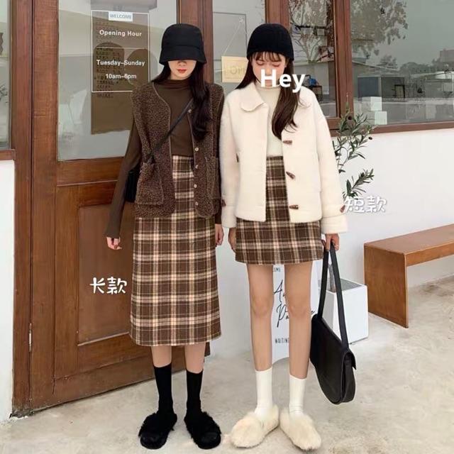 | Bán Chạy | [ORDER] Chân váy caro 2 mẫu (có ảnh thật)