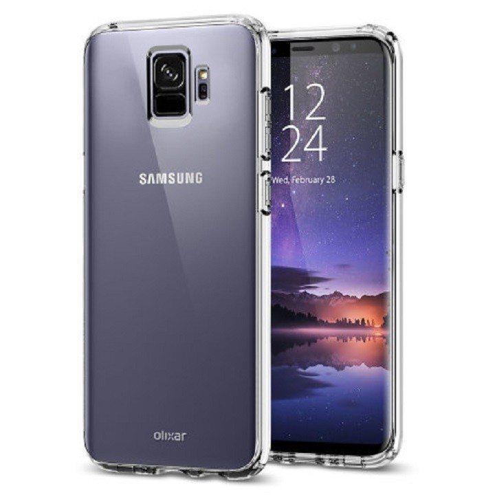 Ốp lưng Samsung S9 dẻo trong suốt