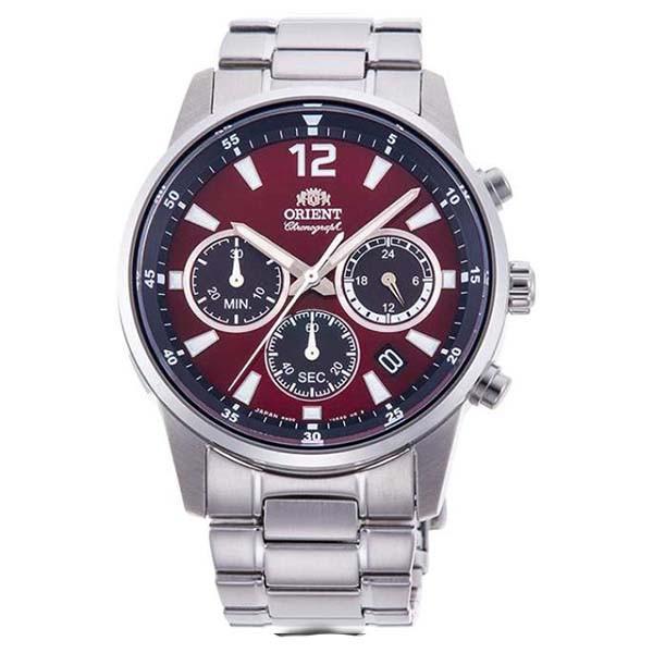Đồng hồ nam Orient CHÍNH HÃNG RA-KV0004R10B, dây kim loại.