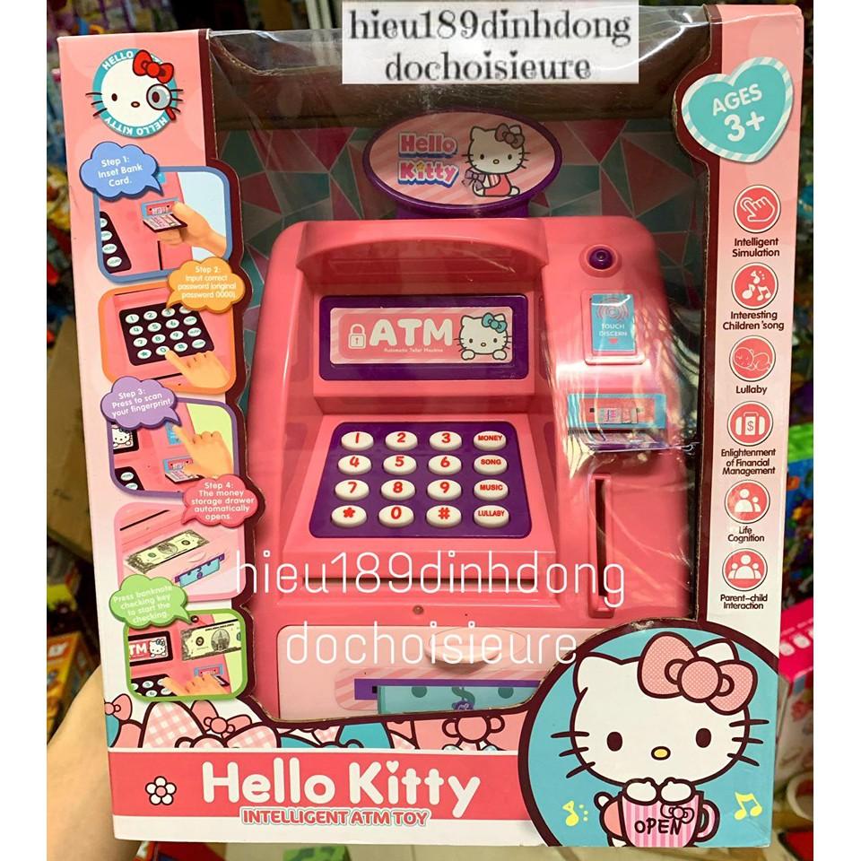 Đồ chơi cây ATM máy rút tiền tự động nhiều chủ đề elsa kitty TẶNG KÈM PIN (Khách hàng chat chọn mẫu)