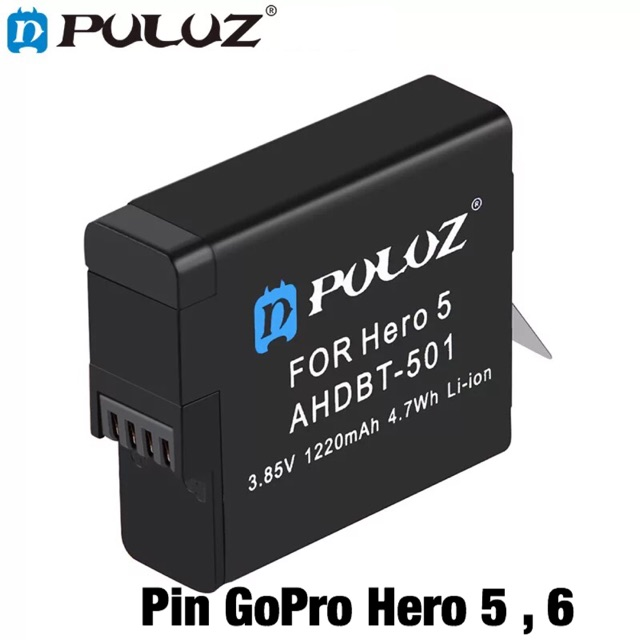Pin Gopro Hero 5 6 Hàng Chính Hãng Puluz
